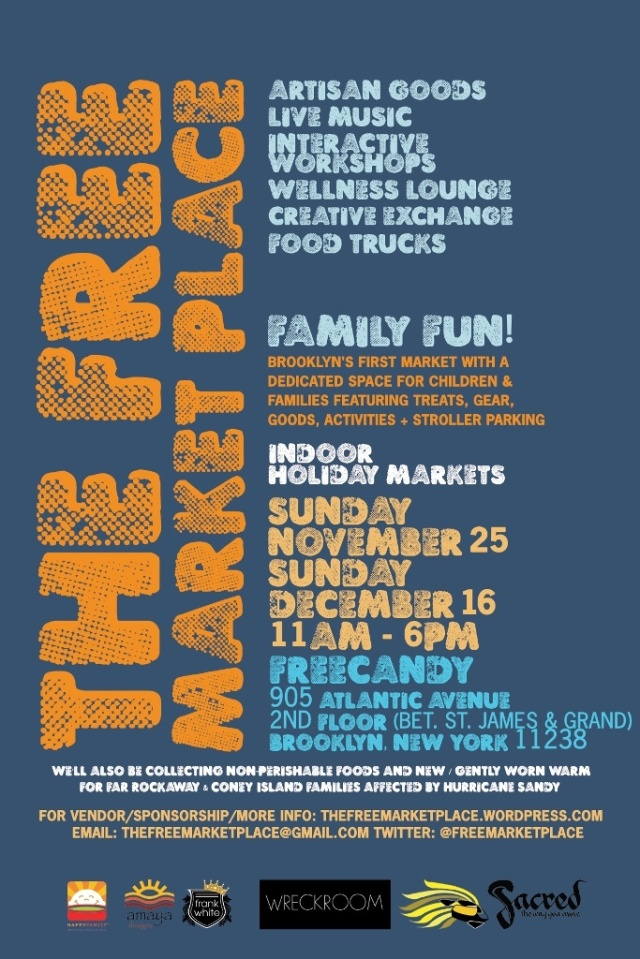 The Free Marketplace Launches in BK 11/25/12